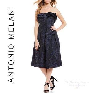 Antonio Melani Emmett Jacquard Midi Dress